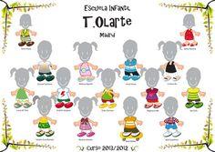 Orlas Infantiles   T.Olarte Orla Infantil, Orlando, Kids, Murals, Diy Creative Ideas, Activities, Yearbooks, Plaster, Infant Crafts