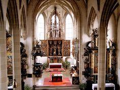 Kefermarkt, Upper Austria - Church with gothic altar Altar, Heart Of Europe, Kirchen, Austria, Gothic, Pictures, Beautiful, Kunst, Photos