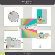 Templates: Whip It Up v18 by Amy Martin Designs