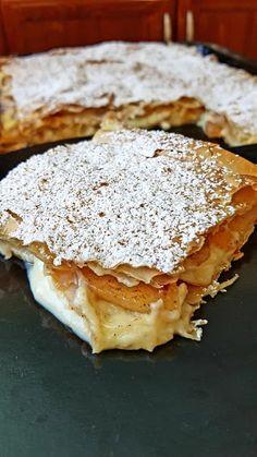 Mediterranean Recipes, Greek Recipes, Apple Pie, Tart, Recipies, Sweet Home, Sweets, Cooking, Desserts