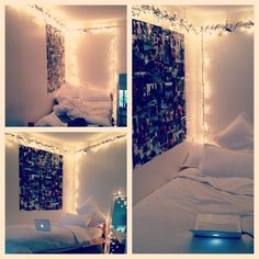lights and dorm decor
