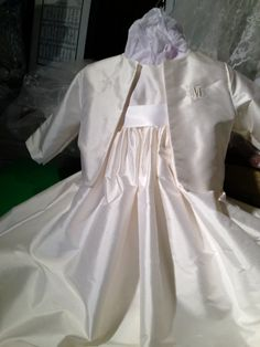 Traditions Christening Gown and Hat Bib and by DbinkieOriginals