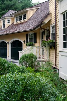 Traditional Home arched garage doors Design Ideas, Pictures, Remodel and Decor