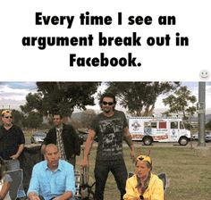 Every time I see an argument break out in Facebook. GIF