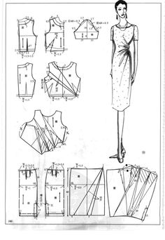 DIY Womens Clothing : Chinese method of pattern making- Dresses dressesdresses ( beginning from the Diy Clothing, Sewing Clothes, Clothing Patterns, Dress Patterns, Sewing Coat, Coat Patterns, Purse Patterns, Techniques Couture, Sewing Techniques