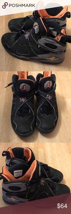 955dbe04374 Jordan 8 Jordan Phoenix Sun 8 s Size 9.5 Men U.S Jordan Shoes Sneakers  Phoenix