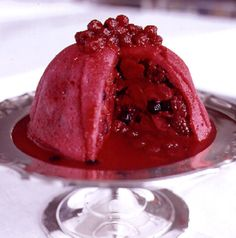 Summer Pudding.  If you have never made a summer pudding, you don't know what you are missing.  Lots of real whipped cream, please!