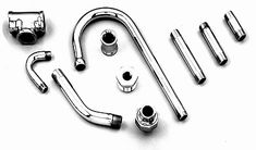 Image result for chrome fittings