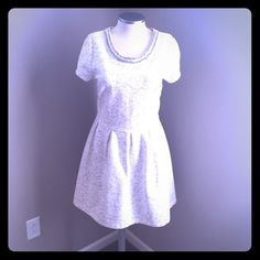 listing! Party dress...great for cooler temps❄️ Remember when you were a little girl, and you got to dress up in that one dress, and when you got home, you didn't want to take it off? You just wanted to twirl around the house until you passed out from joy? THIS is that dress, but for grown ups! It's heavier than it looks, so throw on some tights and then let it snow, because NOTHING will melt your shine when you're wearing this beauty. Channel your inner ice queen! ❄️❄️❄️ {worn once and dry…