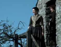 "Jamie Fraser (Sam Heughan) and Claire Fraser (Caitriona Balfe) in Episode 209 ""Je Suis Prest"" of Outlander Season Two on Starz via https://outlander-online.com/2016/06/04/1680-uhq-1080p-screencaps-of-episode-2x09-of-outlander-je-suis-prest/"
