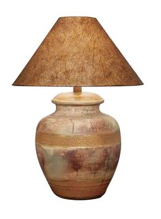 Desert Collection Lamp 203RD Western Lamps - From our Made in the USA Desert Collection. Hand finished with soft desert colors.