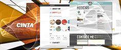 """Página web """"Cinta de Básic I, II y VIP"""", el diseño esta indicado para PYMES que desean tener su tarjeta de visita en Internet."""