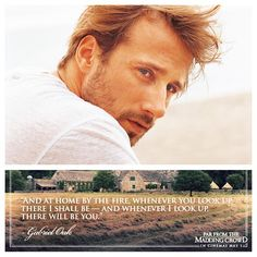 My heart has always belonged to Mr. Rochester, but my new literary crush is Mr. Oaks from Thomas Hardy's Far From the Madding Crowd, especially when played by Matthias Schoenaerts. Far From Madding Crowd, Robert Hardy, Jennifer Niven, Matthias Schoenaerts, All The Bright Places, Quotes About Hate, What Makes A Man, Favorite Movie Quotes, Literary Quotes