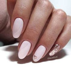 Tinged Short Almond Nails and Stilettos Nails - Fashion is an attitude. - Tinged Short Almond Nails and Stilettos Nails – Fashion is an attitude. Easy Nails, Simple Nails, Cute Nails, Solid Color Nails, Nail Colors, Nail Art Beige, Valentine Nail Art, Nailed It, Wedding Nails Design