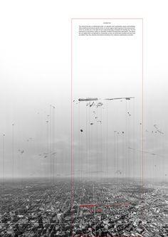 Building breakdown /// Invisible City by Vassia Chatzikonstantinou, via Behance: