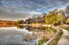 Sunday reflections - High Park - Toronto 2012 - copyright Jeff E. Smith