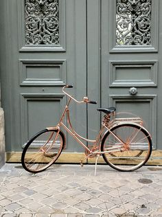 …because, you know, everyone needs a copper #bike.