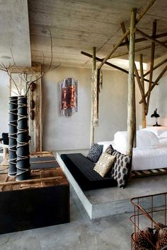 A Dramatic Rustic Modern Interior Lux Lodge Decor