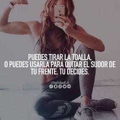 Tu decides #motivacion