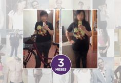 Dejé de sentir mi vientre inflamado y baje de peso