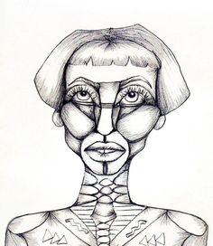 Female anatomy according to Hazeface #sketch #doodle #art #femaleform