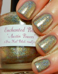 Enchanted Polish Austin Powersover Wet 'n' Wild Wet Cement