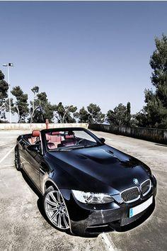 Black car BMW  #automotive #cars #transportation