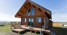 Relax in this beautifully built log cabin and bask in the brightness of its interior. This beautiful log cabin is the perfect retreat for quiet contemplation for you and your family, and the vast, sunny expanse of land is guaranteed to settle all the stresses you might be under from the city.