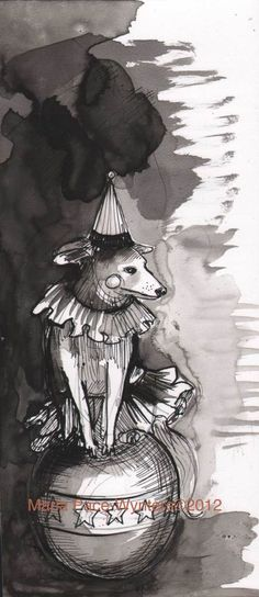 One-Circus-Dog Maria Pace-Wynters is a pretty fantastic artist.