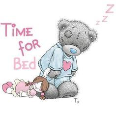 tatty teddy bear time for bed Tatty Teddy, Blue Nose Friends, Nici Teddy, Cute Images, Cute Pictures, Wall Photos, Pictures Images, Teddy Bear Quotes, Teddy Bear Pictures