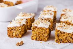 This is an easy zucchini cake made with a carrot cake mix, oil, pineapple, and optional coconut. Dust it with powdered sugar or frost the cake. Carrot Cake With Pineapple, Pineapple Recipes, Pineapple Coconut, Tropical Carrot Cake Recipe, Pineapple Desserts, Zucchini Carrot Cakes, Zucchini Desserts, Grapefruit Cake, Thanksgiving Cakes
