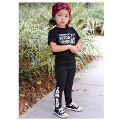 """Little Wonderland Clothing on Instagram: """"Olivia looking Stylin today! <I love black, white, + red>  Call me bias but our TOMBOY leggings are pretty fly!! Love how she styled them with her cute tee from @oliveandcheeks + love the beanie from @two.chicks  Rock Star Status!  #instafashion #fashionspo #style #styleinspo #streetstyle #ootd #styleclubla #trendykiddies #hipsterkidstyles #trendy_tots #igkiddies #kidfashion #weekleyoutfitter #toddlerfashion #toddlerlife #hipster #hipkids"""