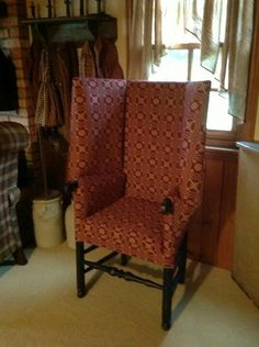 Reproduction Colonial Upholstered Furniture On Pinterest