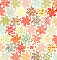 Moda Fabrics - Marmalade by Bonnie & Camille - Ballerina Quilt Kit - Pattern by Jaybird Quilts