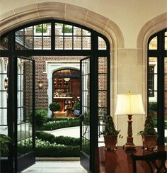 The application of steel windows and doors does not solely fall into modern design. Using the incredibly narrow sight line of the Crittall Berkley series, the steel windows and doors enhance the classic and contemporary look of the Wadia residence.