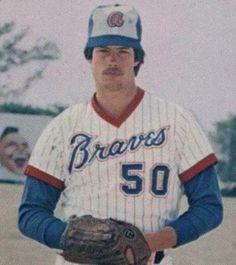 Atlanta Braves  Photo (1979) - Tommy Boggs wearing the Atlanta Braves home uniform during the 1979 season