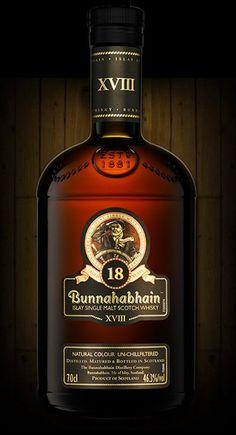 Bunnahabhain 18 [Single Malt Scotch Whisky]