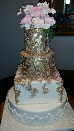 Wedding cake by Lorna Colls