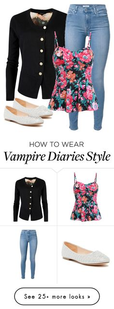 """Caroline Inspired Outfit - The Vampire Diaries / The Originals"" by fangsandfashion on Polyvore featuring Ted Baker and Lauren Lorraine"