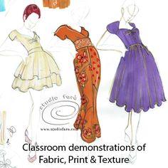 Fashion Illustration Incursion season is here! Demo in class.  #FashionIllustration #Sydney