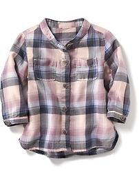 Plaid Shirt for Baby