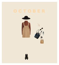 """""""OCTOBER"""" by ariana-figueroa on Polyvore featuring moda, Acne Studios, Louis Vuitton y Moschino"""