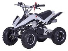 Mini Quadriciclo Bull BK-502 49cc Motor 2-Tempos - Velocidade Máxima 40Km/h - Bull Motors