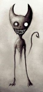Horror pet cemetery tattoo: