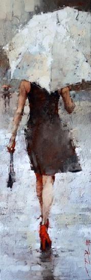 Mary Martin Gallery. ANDRE KOHN. OIL ON CANVAS!!!! **