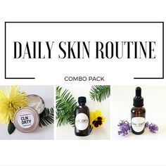 Daily Skincare Routine - Luxury Anti Aging Face Cream - Anti-Aging Oil - Eye Makeup Remover Oil - Christmas Gift for Her - Acne - Dry Skin