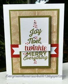 Evergreen Memories: Holiday Expressions Blog Hop: White Pine Cardmakers Workshop on the Go paired with the October stamp of the month - Twinkle.