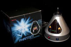 Phantom Vaporizer  The Phantom Digital Vaporizer is graceful and effective vaporizer.  Phantom vaporizer    The temperature on it ranges between 100 and 400 degrees Fahrenheit.