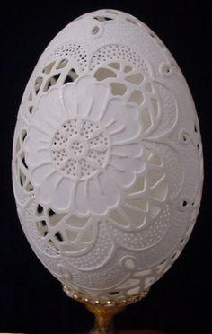 carved eggshells                                                                                                                                                                                 More