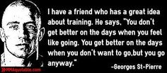 Image result for guys training quotes